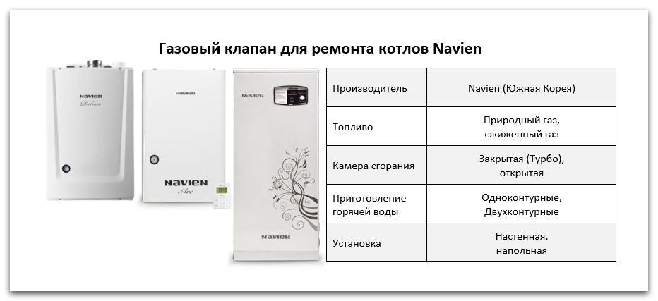 Купить газовый клапан Navien в Саратове